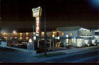 Valdosta GA Imperial 400 Motel Neon Sign - Postcard
