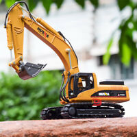 1:50 Alloy Excavator Toys Diecast Engineering Vehicle Model For Kids Gifts