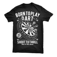 Shirt T Darts Mens Weekend Unisex Forecast Drinking Chance Funny Bullseye  S-3XL