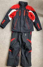 Boys Spyder Ski Jacket And Trousers/Salopettes - Size 16-18