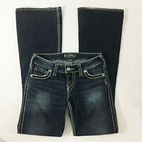 """P30 Silver 22"""" Frances Flare Jeans Sz 25 Womens Pants"""