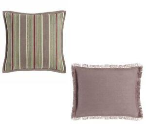 Ralph Lauren Notting Hill Northward Stripe & Noland Lavender Throw Pillows $275