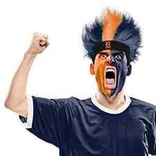 Detroit Tigers Fuzz Head Wig MLB Pro Baseball Sports Adult Costume Accessory