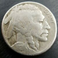 1924-S Buffalo Nickel VG Very Good or Fine F Details Porous Obv Surface
