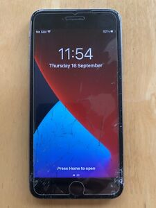 Apple iPhone 6s Plus A1687 128GB, Space Grey, broken screen - please see listing