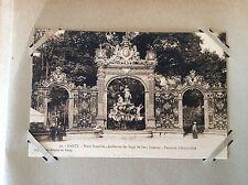 carte postale ancienne Place Stanislas NANCY Grilles En Fer Forgé De Jean Lamour