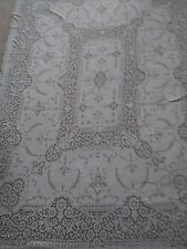 VINTAGE QUAKER LACE TABLECLOTH