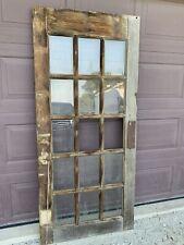 Antique Vintage French Wood Interior Swing Door