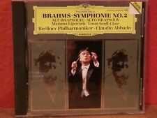Brahms: Alto Rhapsody / Symphony No. 2    CD   LIKE NEW  BR193