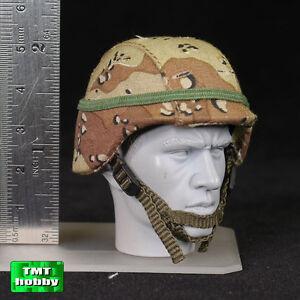 1:6 Scale Soldier Story SS071 USMC KUWAIT 1991 - PASGT Helmet w/ Desert Cover