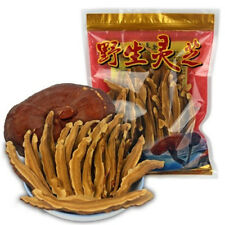 Premium 250g Dried Lingzhi Red Reishi Mushroom Ganoderma Lucidum Slices Herbs
