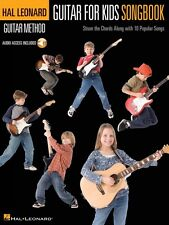 Guitar for Kids Songbook  Hal Leonard Guitar Method Book and Audio NEW 000697402