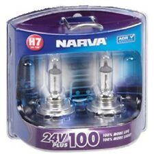 Narva H7 24V 70W Plus 100 Performance Globes 100% More Light Long Life 48730BL2