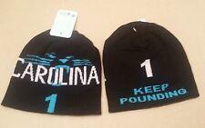 Carolina Panthers Beanie Cam #1 Newton KEEP POUNDING w/Coolmax liner
