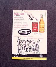 M231- Advertising Pubblicità -1960- OLIO BERIO