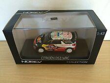 CITROEN DS3 WRC VAINQUEUR - RALLYE MEXIQUE 2011 LOEB - NOREV 1/43 - REF. 155351