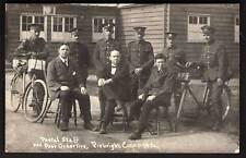 Pirbright Camp nr Woking. Postal Staff & Post Orderlies