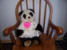 Build a Bear Workshop BABW vestidas pawsom Oso Panda Con Sonido