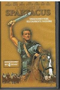 SPARTACUS ~ KIRK DOUGLAS - LAURENCE OLIVIER - PETER USTINOV - VHS - 2000