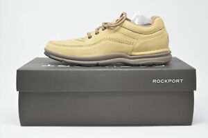 NIB Rockport World Tour Classic Men 10.5 M Leather Comfort Walking Shoes K70883