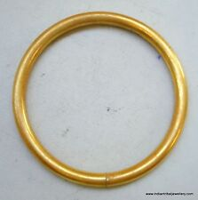 traditional design 22k gold Bracelet Bangle plain Rajasthan India