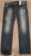 Diesel Safado Jeans 34x32 or 30x34 ORBE4 Reg.Slim STRGHT DSTRSSD: Read Size Info