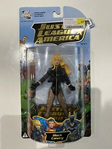 DC Direct Justice League Of America Series 1 Black Canary Action Figure 2008