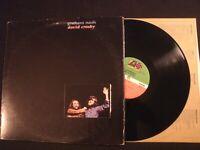 Graham Nash / David Crosby - S/T - 1972 Vinyl 12'' Lp./ VG+/ Prog Folk Rock AOR