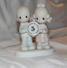 porcelain figurine couple- 5 year anniversery