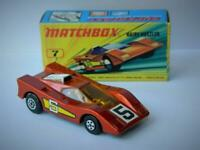 MATCHBOX LESNEY SUPERFAST #7 VINTAGE 1971 HAIRY HUSTLER RARE YELLOW LABELS VNM