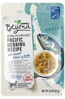 6 Pack Purina Beyond Pacific Herring Tomato & Kale Dog Food 2 Oz Treat Snack