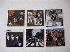 6 Beatles Album Covers Abbey Road Sgt Peppers Revolver Etc Photo Fridge Magnets