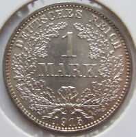 Top! 1 Mark 1915 E IN Uncirculated