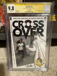 Crossover #1 CGC 9.8 TCM Variant Signed & Remarked By Aaron Bartling