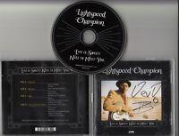 LIGHTSPEED CHAMPION Life Is Sweet Nice To Meet You SIGNED / AUTOGRAPHED CD + CoA
