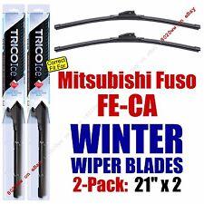 WINTER Wiper Blades 2pk Premium fit 2001 Mitsubishi Fuso FE-CA - 35210x2