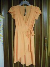 Ella moss orange ballet wrap dress - NEW with minor damage