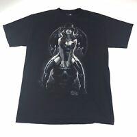 Exile Vampire Woman On A Skull Black T Shirt Size M Medium #1136
