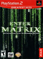 Complete LikeNEW Disc Enter the Matrix PlayStation 2 PS2 2003 Greatest Hits Edt