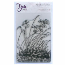 New listing Dali Art A6 Clear Rubber Stamp - Meadow Flowers