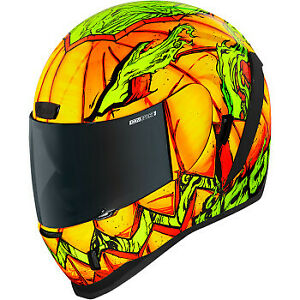 NEW Icon Airform Trick or Street Helmet Motorcycle Riding Street Helmet