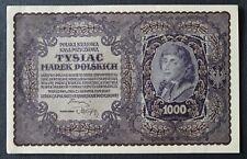 Poland - Pologne - Polska - Billet de 1000 Marek de 1919 SPL !!! #2