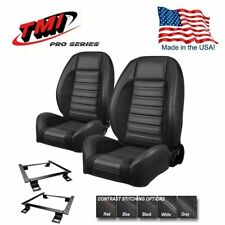 TMI Pro Series Sport R Complete Bucket Seat Set for 1971 - 1973 Mustang