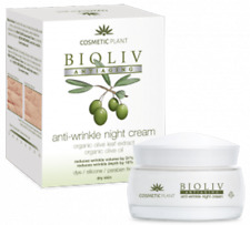 Cosmetic Plant Bioliv Organic Olive Anti-aging Anti-wrinkle night cream 50 ml
