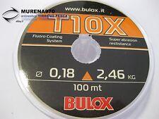 MONOFILO BULOX T10X 100mt 0,18mm 2,46kg - FIL57