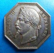 ROUEN - Napoléon III - Jeton de Notaire - Argent - N°1
