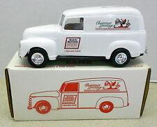 Martel Bros Racing Christmas 1950 Chev Panel Truck 1992 Diecast Ertl Bank #2783