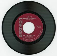 Little Milton 1965 Checker 45rpm Who's Cheating Who? b/w Big Deal Northern Soul