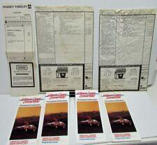 1989 Chrysler Le Baron Convertible Window Stickers & Brochures Original Rare