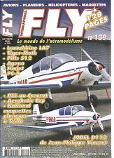 FLY N°139 PLAN : TR 260 SIRIUS / LAVOCHKINE LA 7 / PITTS S12 JAMARA / PILATUS PC